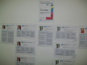 User profiles posters