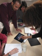 Centre HCID using iPad