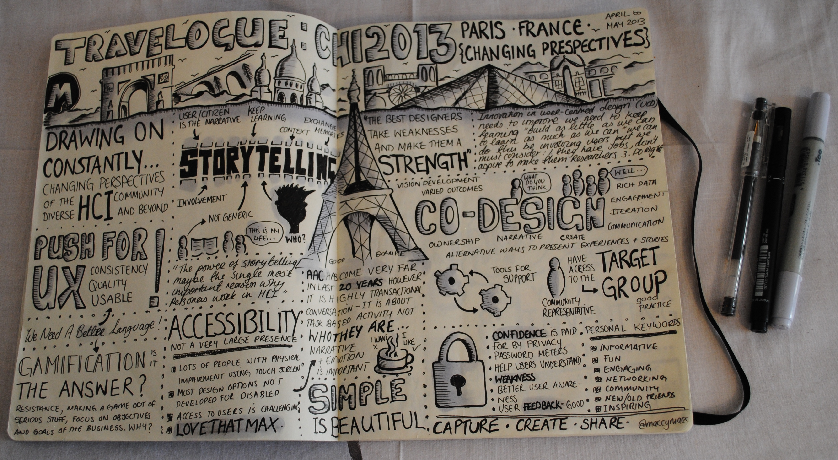 How to write a travelogue?